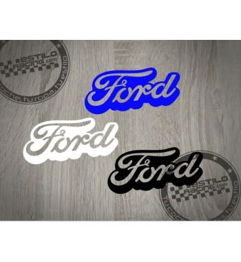 Pegatina Ford letras