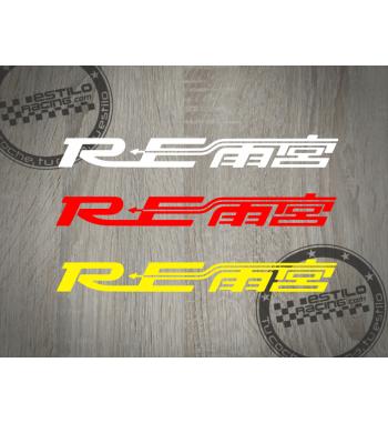Pegatina Mazda RE Amemiya