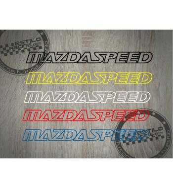 Pegatina Mazdaspeed lineas