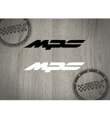 Pegatina Mazda MPS
