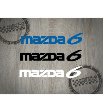 Pegatina Mazda 6
