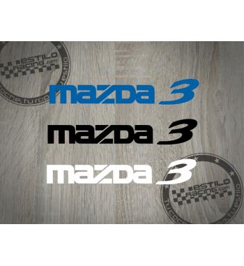 Pegatina Mazda 3