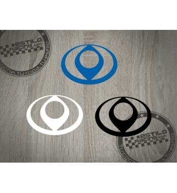 Pegatina Mazda logo clásico