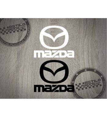 Pegatina Mazda logo