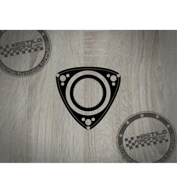 Pegatina Rotor Rotary