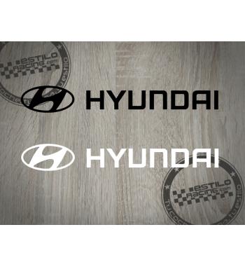 Pegatina Hyundai logo