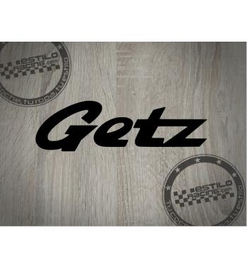 Pegatina Getz Hyundai