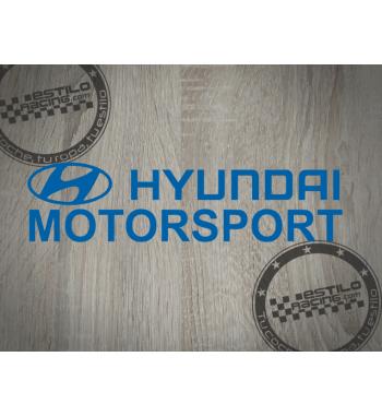 Pegatina Hyundai Motorsport