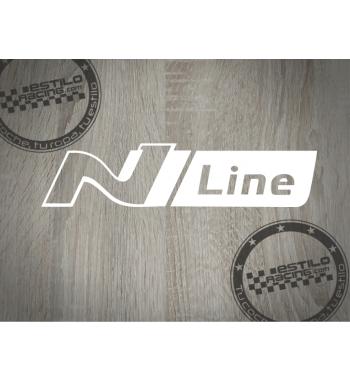 Pegatina Hyundai N line