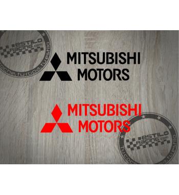 Pegatina Mitsubishi Motors