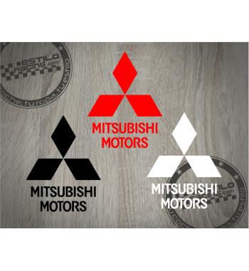 Pegatina Mitsubishi Motors...