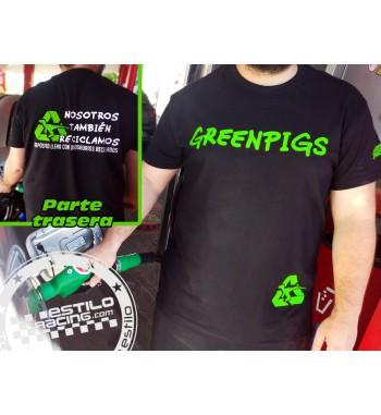 Camiseta Greenpigs -...