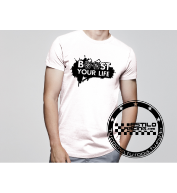 Camiseta Boost your life