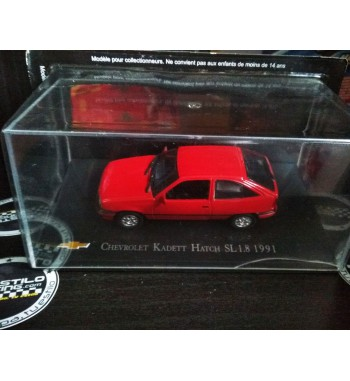 Chevrolet Kadett 1.8 rojo 1/43