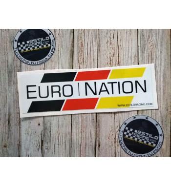 Pegatina Slap EuroNation