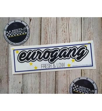 Pegatina Slap Eurogang