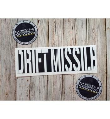 Pegatina Slap Drift Missile
