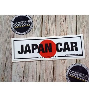 Pegatina Slap Japan Car