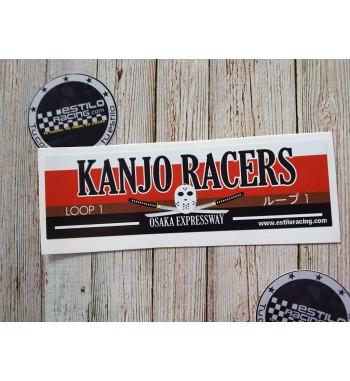 Pegatina Slap Kanjo Racer