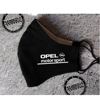 Mascarilla Opel motorsport