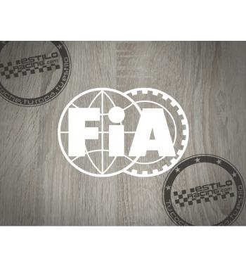 Pegatina FIA