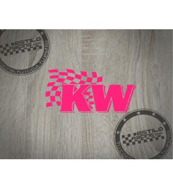 Pegatina KW suspension