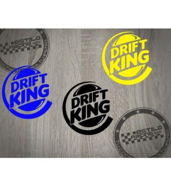 Pegatina Drift King