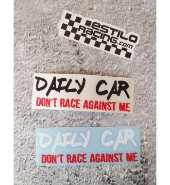 Pegatina Daily Car