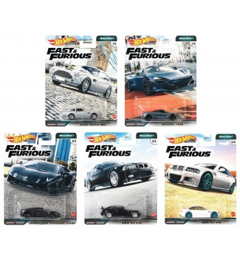 Hot Wheels Premium Fast and...