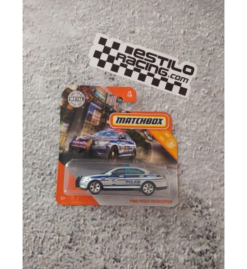 Matchbox Ford Police...