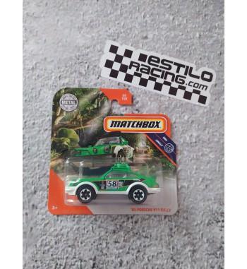 Matchbox 85 Porsche 911 Rallye