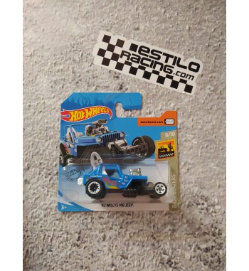 Hot Wheels 42 willys mb jeep