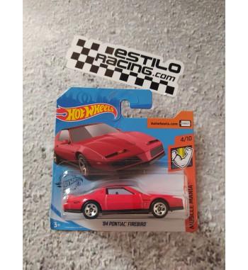 Hot Wheels 84 Pontiac Firebird