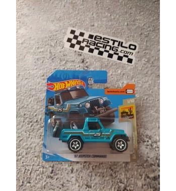 Hot Wheels 67 Jeepster...