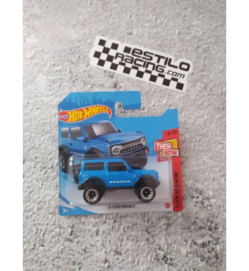 Hot Wheels 21 Ford Bronco