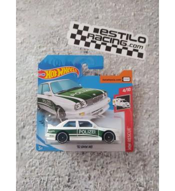 Hot Wheels 92 BMW M3 polizei