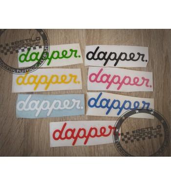 Pegatina Dapper