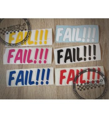 Pegatina Fail!!!