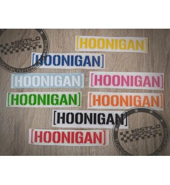 Pegatina Hoonigan