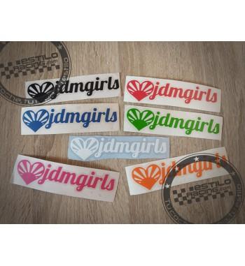 Pegatina JDM girls
