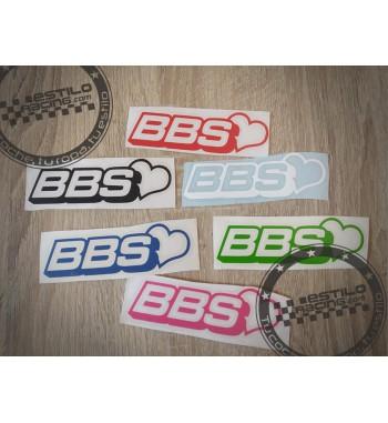 Pegatina BBS love