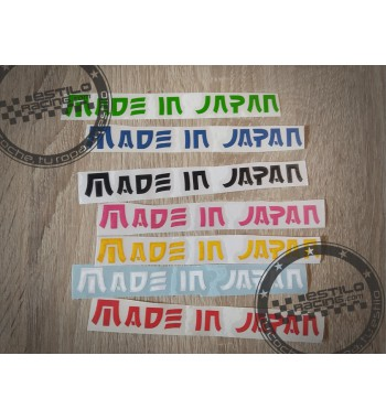 Pegatina Made in Japan
