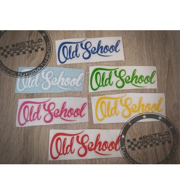 Pegatina Old School