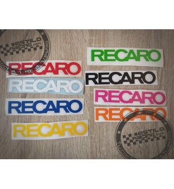 Pegatina Recaro