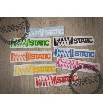 Pegatina Static