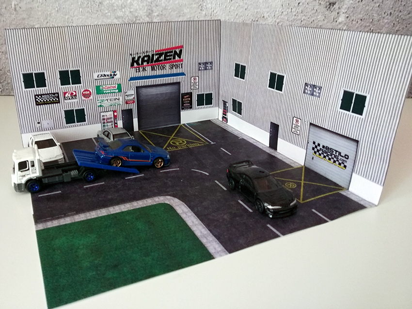 Diorama 1/64 EstiloRacing