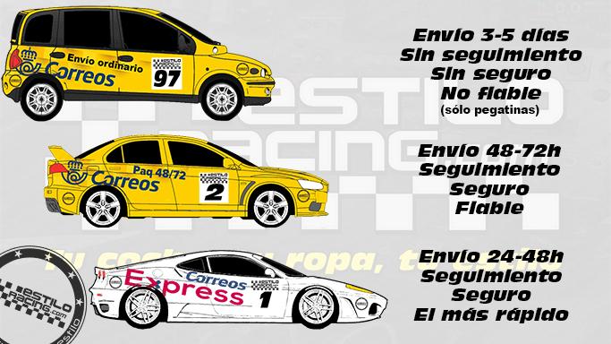 Envios Estilo Racing